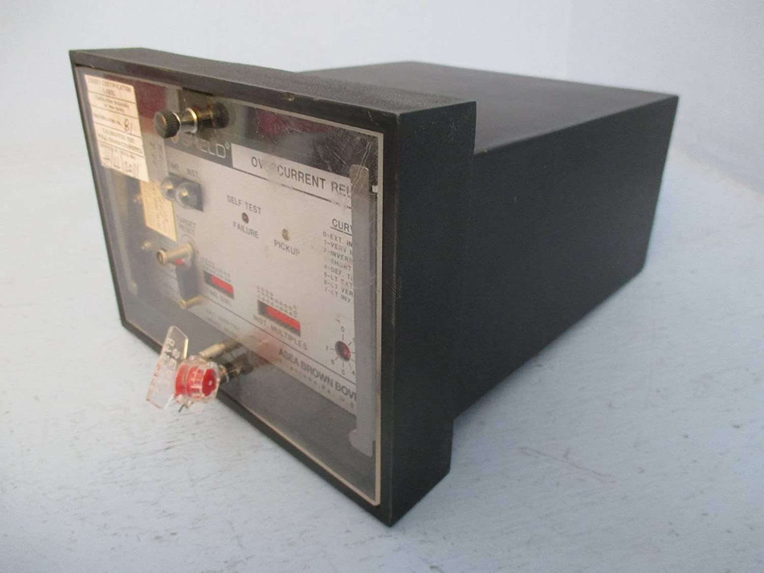Abb 446s1101 Circuit Shield Overcurrent Relay Asea Brown Boveri Current Monitoring Industrial Scientific