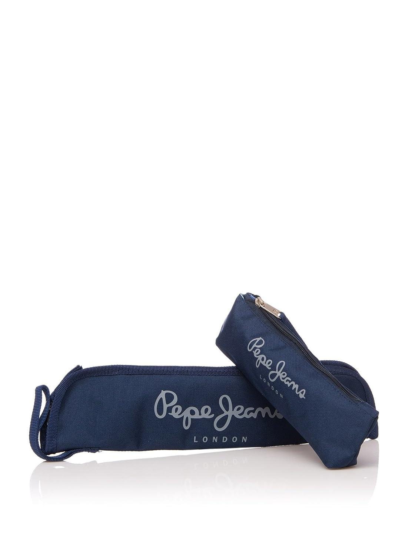 Pepe Jeans Set x 2 Estuches Azul Marino: Amazon.es: Equipaje
