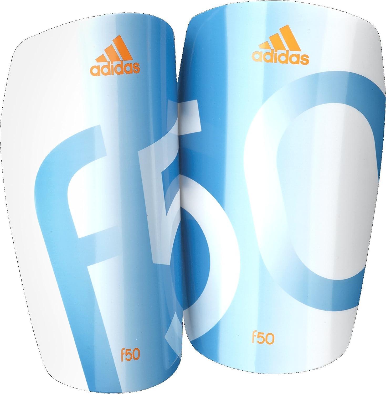 Adidasパフォーマンスf50 Lesto Shin Guard B00IQNGJCGWhite/Solar Blue/Solar Zest Orange Large