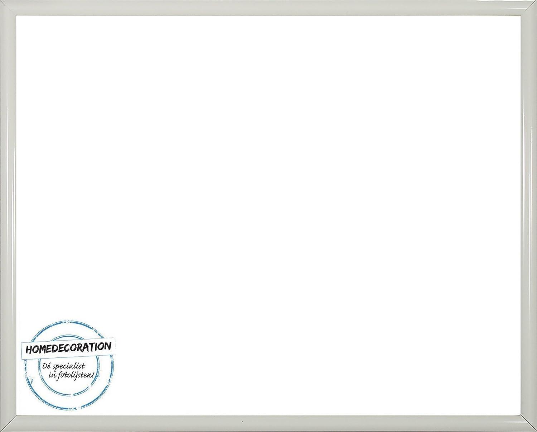 Rotterdam Kunststoff Bilderrahmen 80x105 cm 105x80 105x80 105x80 cm Farbauswahl  hier Schwarz hochglanz mit Antireflex-Acrylglas 9ee2fb