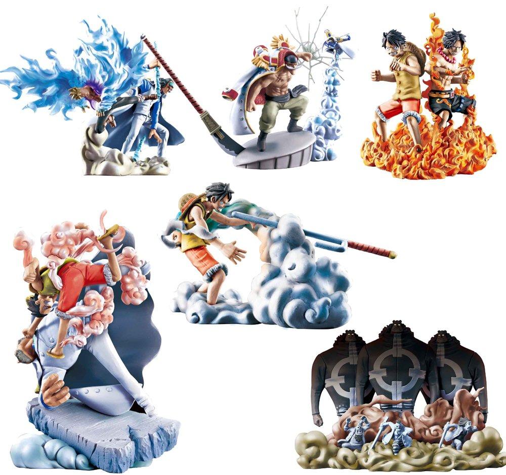 One Piece Marineford Logbox figure case (japan import)