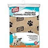 Solution simple Grande lavable Coussinets de chien de dressage de et de voyage–Lot de 2