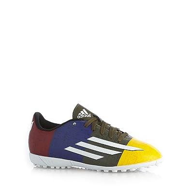 adidas F5 TF J Messi  Football Boots Gold Size  13.5K  Amazon.co.uk ... f9dd26bbd9