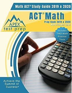 Amazon com: ACT Math Prep Book 2018 & 2019: ACT Math