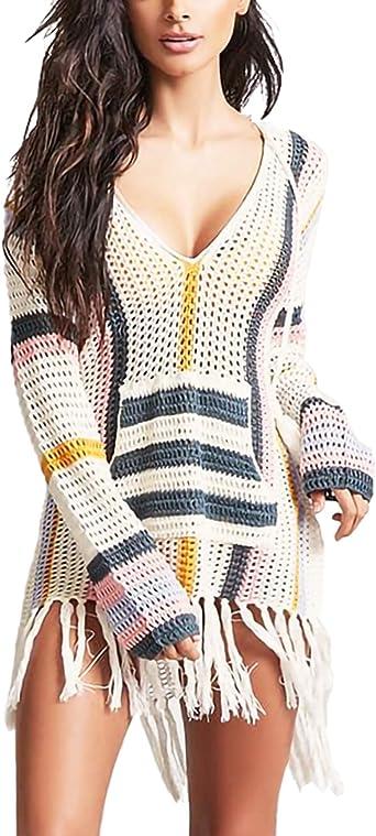 Jeasona Swimsuit Cover Ups For Women Beach Bathing Suit Bikini Crochet Dress At Amazon Women S Clothing Store