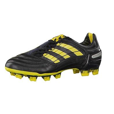 9d7345579 adidas Predator X Fond Fixe World Cup fußballstiefel - - Black/Sun/Metallic  Silver