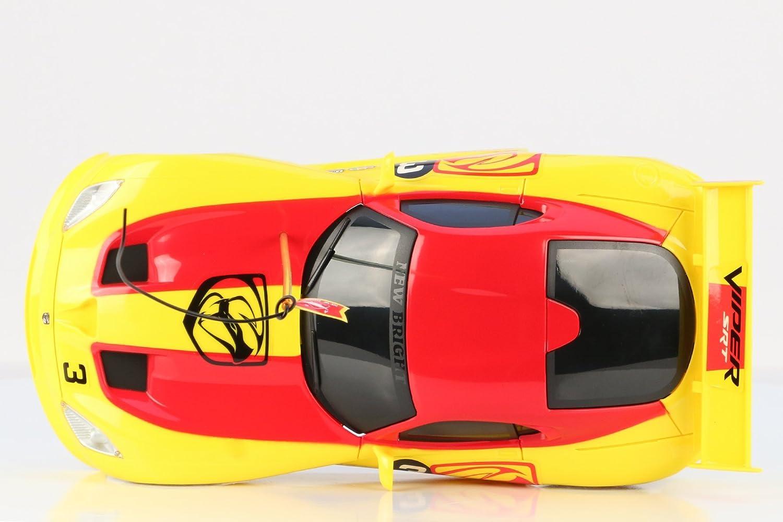 New Bright F//F Viper RC Vehicle Yellow New Bright Import 916-4 1:16 Scale