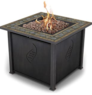 Amazoncom Better Homes and Gardens Colebrook 37 Gas Fire Pit