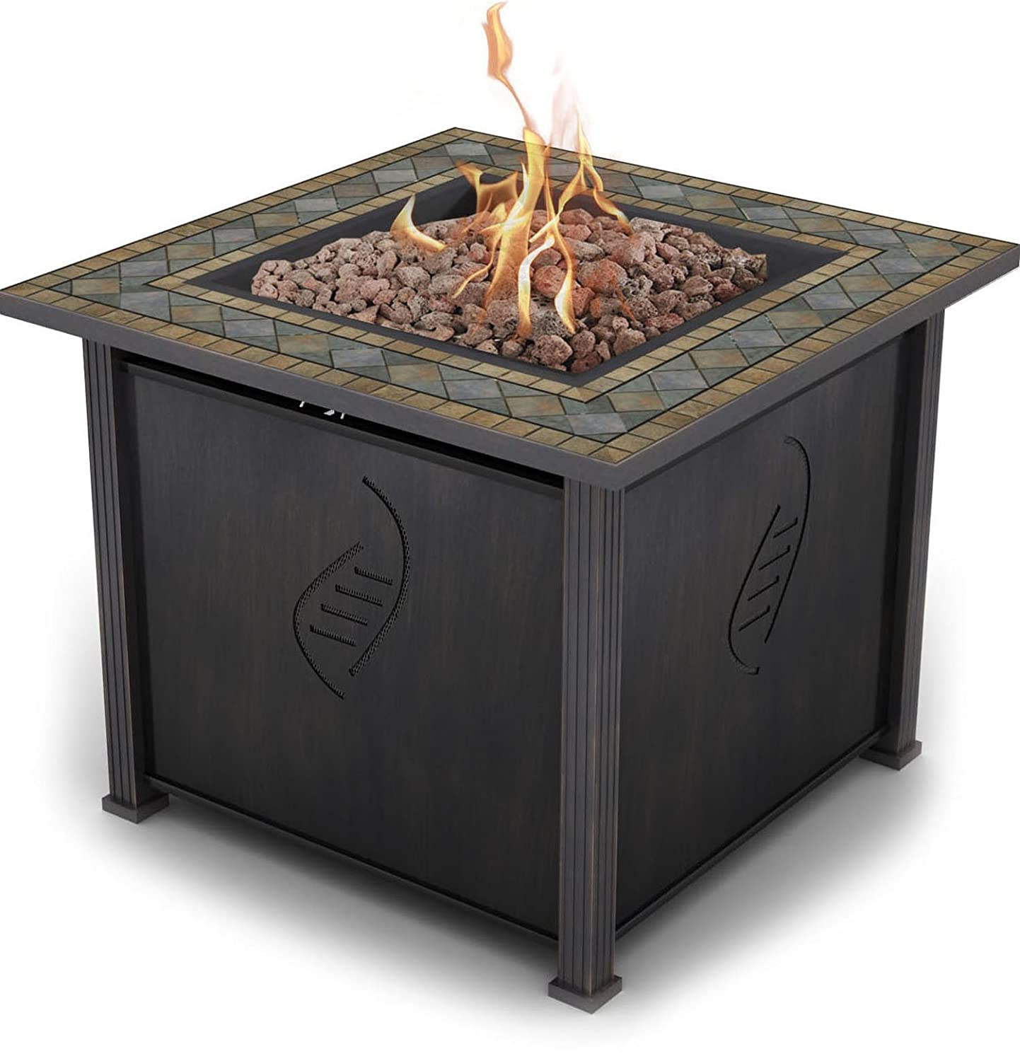 Bond Rockwell 68156 Gas Fire Table, 30-Inch