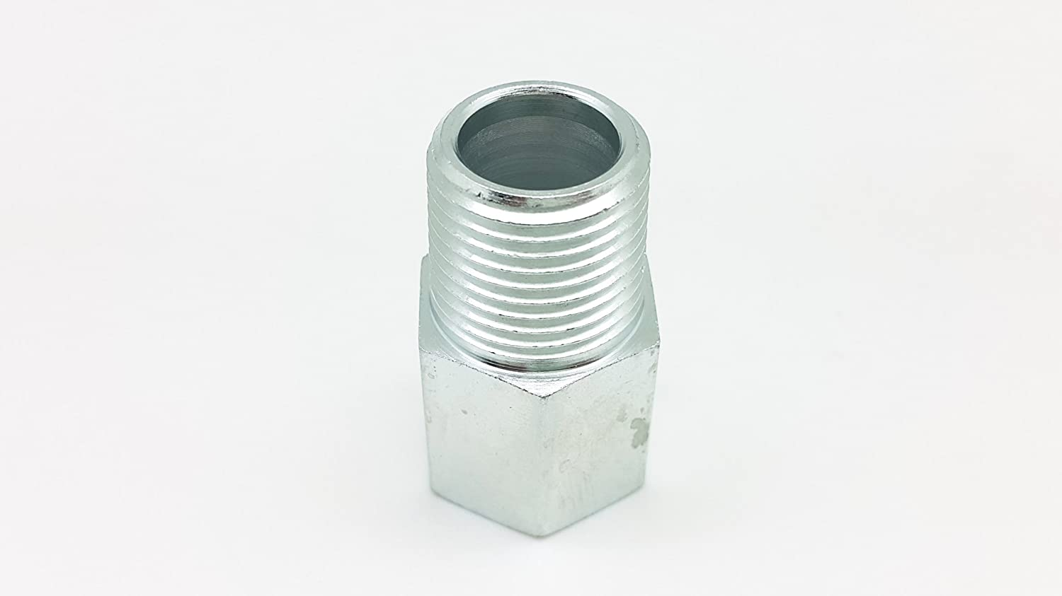 HEX 27 NPT 1//2 Male to M22x1.5 Female L=43mm Autobahn88 Steel Fitting code: FTM518 1.7 inch