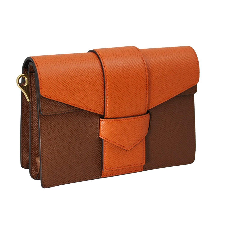 d89e1bee502d Amazon.com  PRADA Women s Saffiano Leather Shoulder Bag Bi-Color Bt0966   Shoes