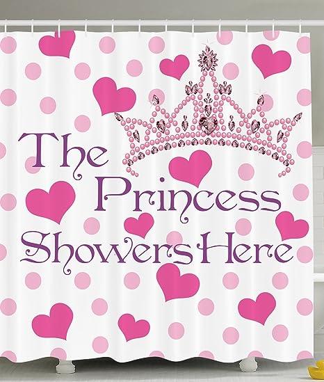 Amazoncom Ambesonne Funny Quotes Girl Baby Shower Birthday Decor