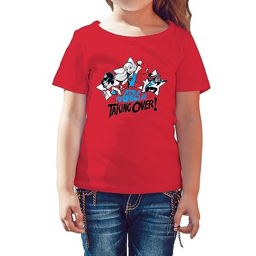 8e0dc61c DC Comics Super Hero Girls Group Batgirl Wonder Woman Supergirl Take Over  Official Kid's T-