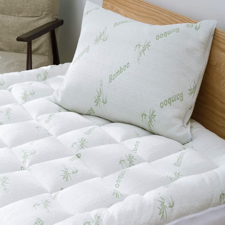 Black Friday Niagara Sleep Solution Bamboo Mattress Topper