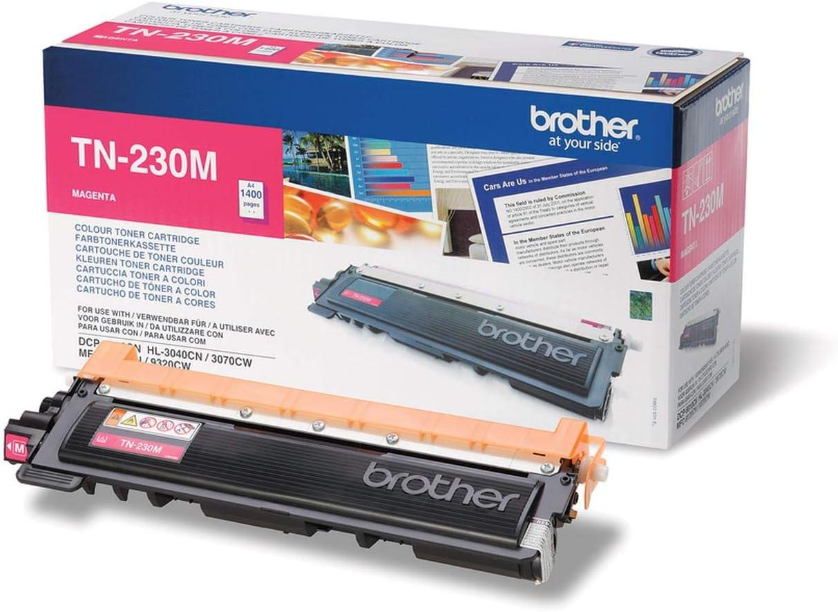 Brother Original Tonerkassette Tn 230m Magenta Für Brother Dcp 9010cn Mfc 9120cn Hl 3040cn Hl 3070cw Mfc 9320cw Bürobedarf Schreibwaren