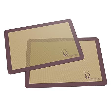 Premium Silicone Baking Tray Mat – 28 x 38 cm (2 pack)