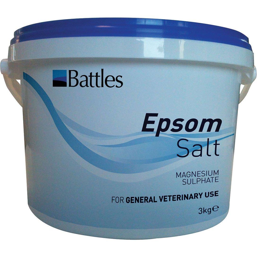Sales Battles de Epsom (sulfato de magnesio): Amazon.es: Productos para mascotas