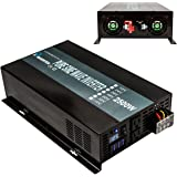 Reliable 2500W High Compact Pure Sine Wave Inverter 48VDC to 120VAC Power Converter For Home Solar Power Gernerator