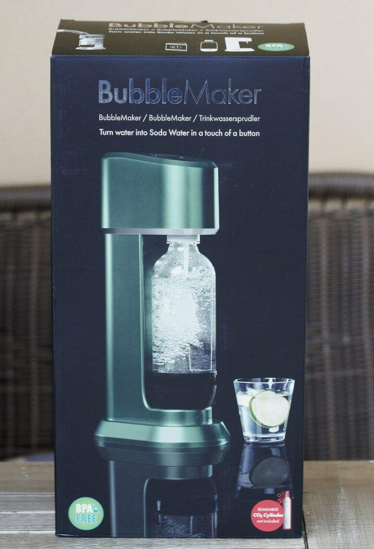 Rusta Wassersprudler Sprudler f/ür Co2 Cylinder Soda Trinkwassersprudler gr/ün