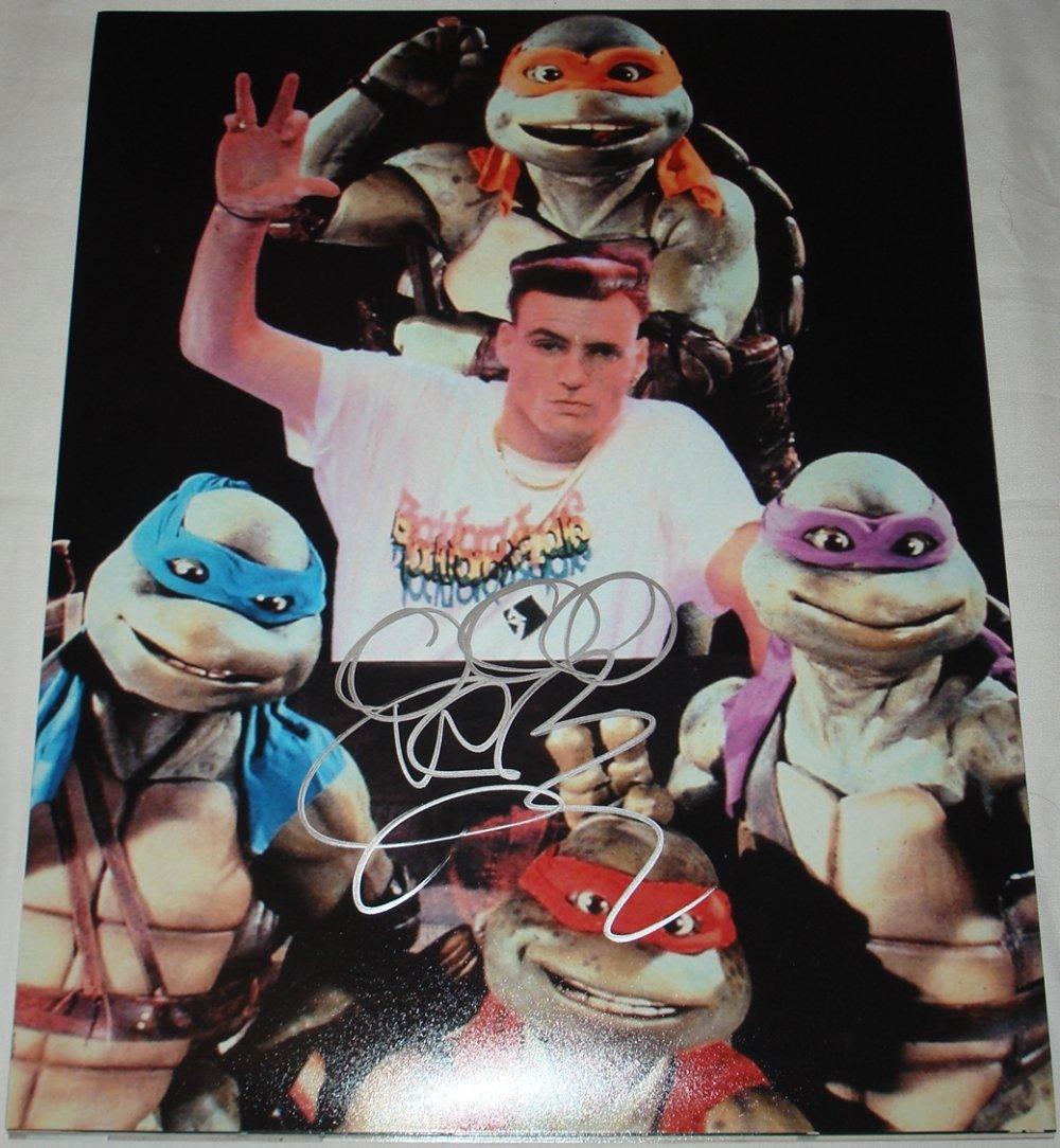 Vanilla Ice Rob Van Winkle TMNT Teenage Mutant Ninja Turtles ...