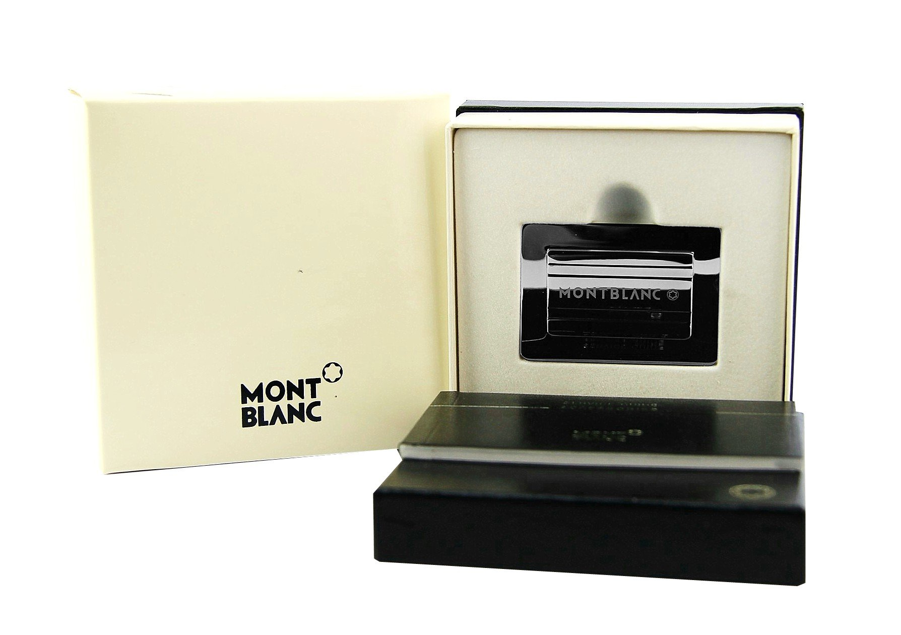 BRAND NEW, BOOKMARK IN ORIGINAL MONTBLANC BLACK BOX, RARE ITEM. SERVICE GUIDE, 100 % AUTHENTIC, MADE IN GERMANY.