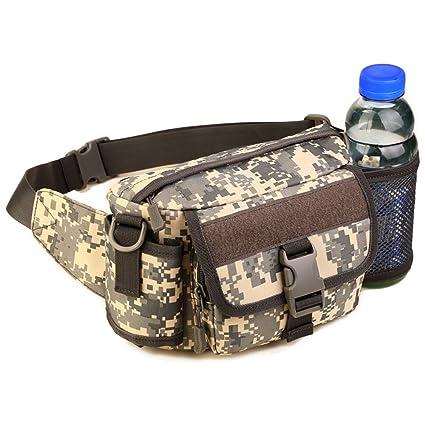 272404a3788 Amazon.com : UNISTRENGH Multi Functional Waist Pack Military Single ...