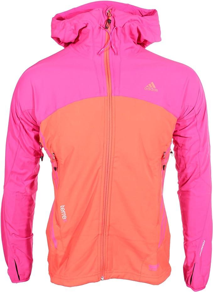 adidas terrex pink jacke