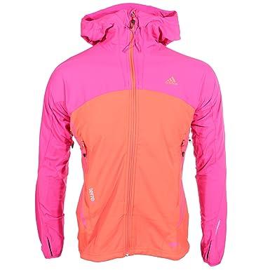 Adidas Terrex Windstopper Softshell Outdoor Veste pour femme Rose, femme,  rose 8e722d1be8db