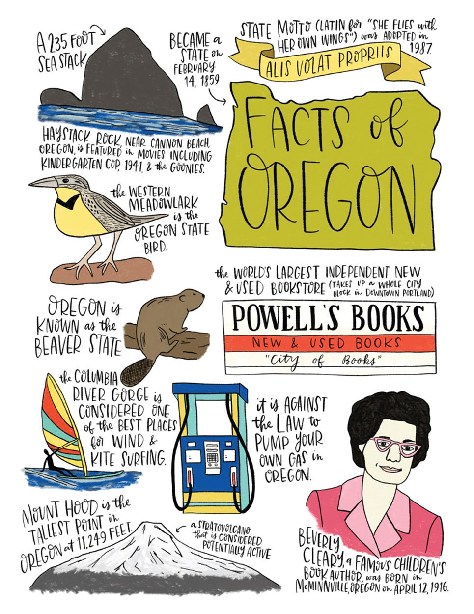 Oregon Estado hechos cocina toalla - 100% algodón toalla de cocina plato: Amazon.es: Hogar