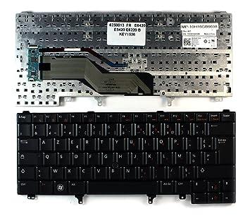 DELL Latitude E6420 ATG con aguja negra Layout francesa teclado para ordenador portátil (PC) de repuesto: Amazon.es: Informática