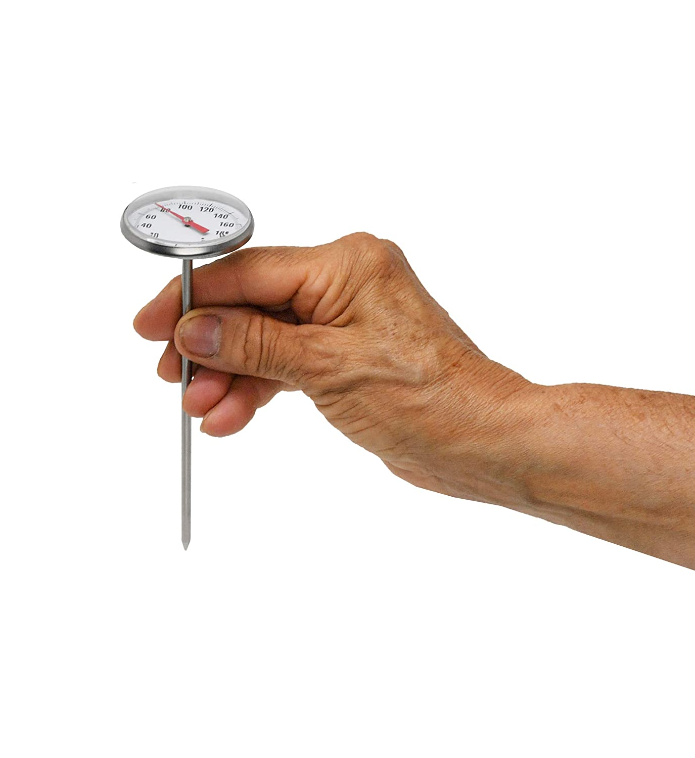 by Home-X 1.75 Inch Diameter Instant Read Precision Analog Meat Poultry Thermometer