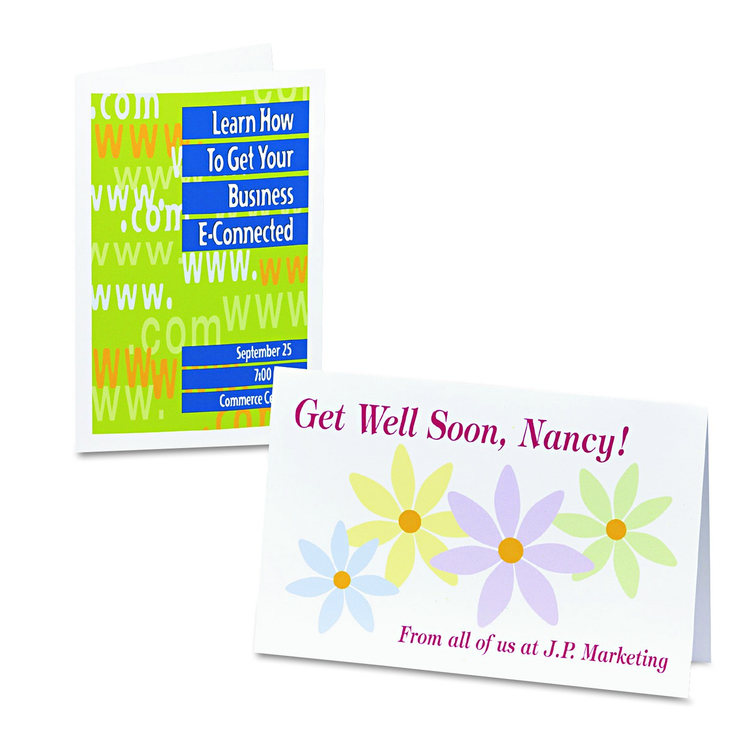 avery half fold greeting cards for inkjet printers