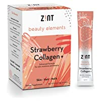 Marine Collagen Peptides Powder Drink Mix (Strawberry): Flavored Collagen Protein...