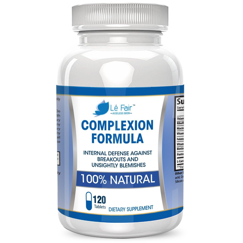 Le Fair Pil e anti acne con acido pantotenico e vitamina B5 Formula rigenerativa della pelle di Le Fair Integratore naturale per acne e punti neri