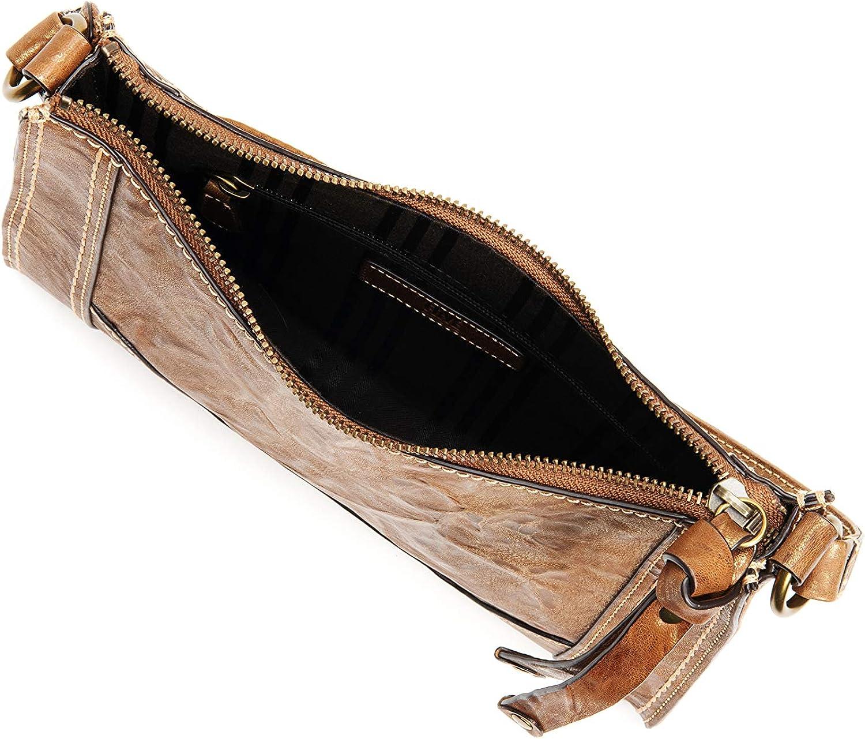 Frye Melissa Zip Leather Crossbody