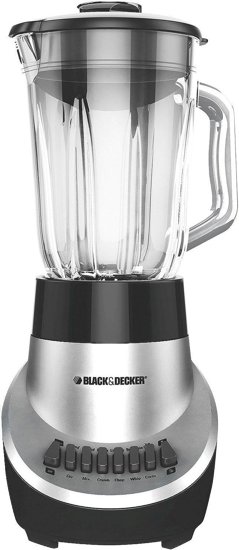 Black & Decker BL1900R 5-Speed Blender with 48-Ounce Glass Jar, Red