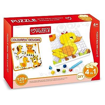 Kinderholzpuzzle Kinderpuzzle Holzpuzzle Puzzle 4 tlg
