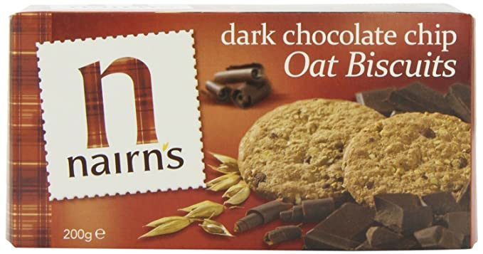 Nairns - Oat Biscuits - Dark Chocolate Chip - 200g (Case of ...