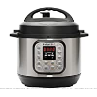 Instant Pot Duo Mini 7-in-1 Electric Pressure Cooker, Slow Cooker, Rice Cooker, Steamer, Saute, Yogurt Maker, and Warmer|3 Quart|11 One-Touch Programs
