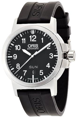 Reloj Oris BC3 ADVANCED DAY FECHA de goma 735 7641 4164R hombre [Regular importados]: Amazon.es: Relojes
