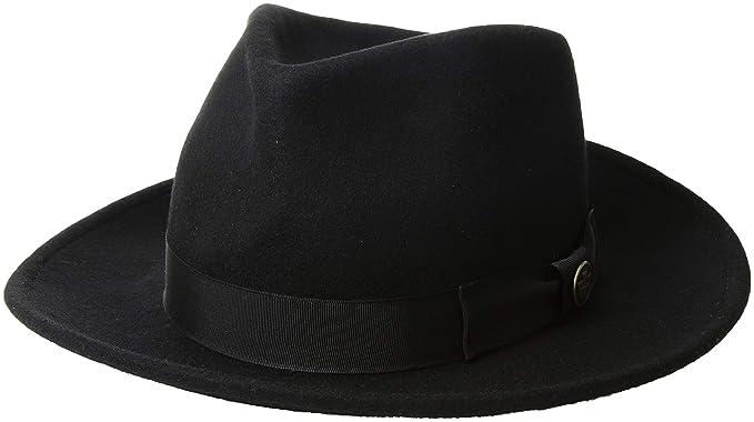 2c1ad183c18af Goorin Bros. Mens The Saloon Fedora  Amazon.ca  Clothing   Accessories