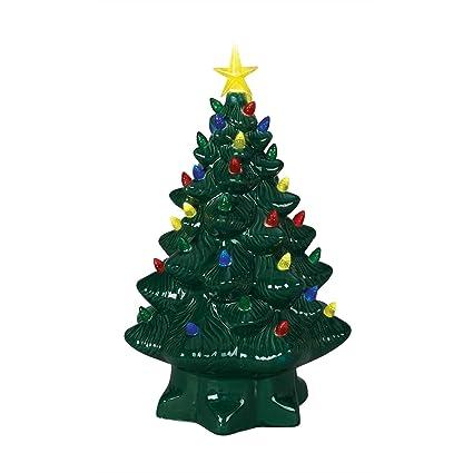 Mr Christmas 14 Inch Nostalgic Christmas Tree Green New