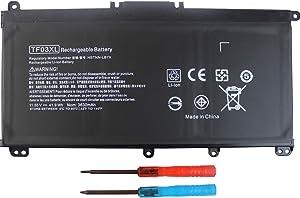 920070-855 TF03XL Laptop Battery for HP Pavilion 15-CC 15-CD 14-BF 15-CC0XX 15-CC1XX 15-CD0XX 15-CC123CL 15-CC561ST 15-CC154CL 15-CC184CL 15-CD075NR 17-AR050WM 14-BF050WM 14M-CD0001DX 14-CD0056TX