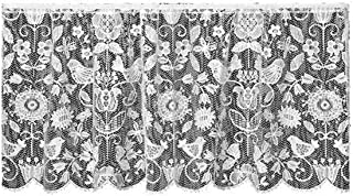 product image for Heritage Lace Rhapsody 60-Inch by 30-Inch Drop White Tier