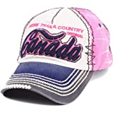 efa09e03725 Robin Ruth Vintage Canada Adjustable Baseball Cap More Than A Country Hat  True North