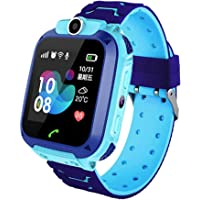 linyingdian Smartwatch Niños, Reloj Inteligente Niña IP67, LBS