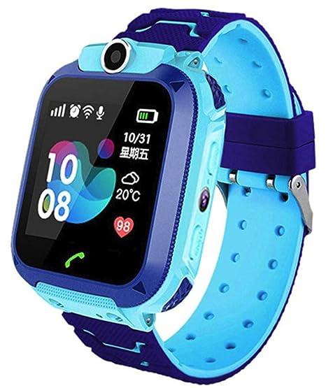 linyingdian Smartwatch Niños, Reloj Inteligente Niña IP67, LBS, Hacer Llamada, Chat de Voz, SOS, Modo de Clase, Cmara, Juegos, Regalo para Niños de ...