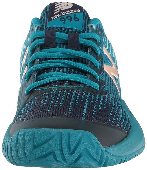 new balance women's hard court 996v3 tennis shoe