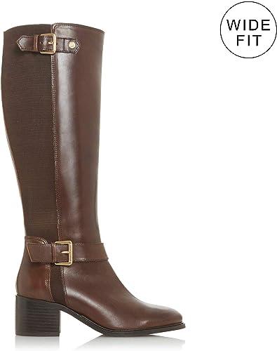reasonable price great fit catch Dune Ladies Women's WF TILDAA Block Heel Knee High Boot Size UK 5 ...