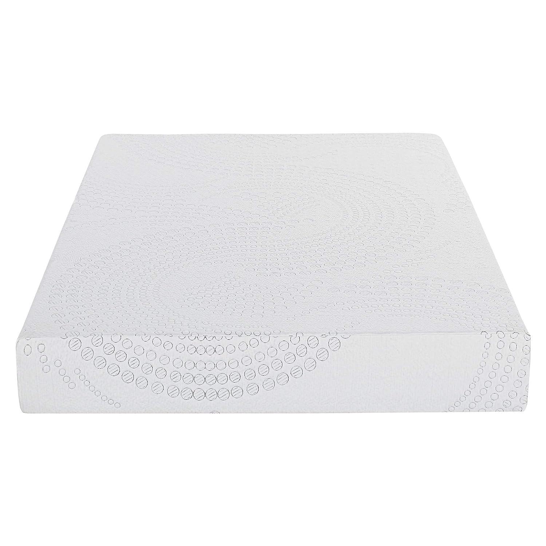 PrimaSleep 10 in Memory Foam Mattress,Gel Memory Foam,White Queen